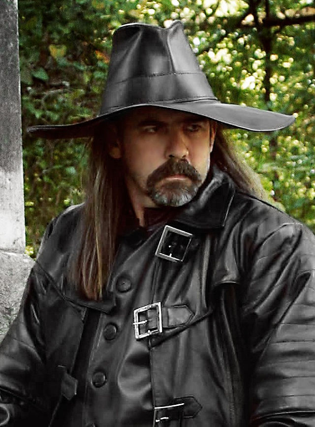 Costume - Leather Hat with Wide Brim - TheVikingStore.co.uk e4f8f50892b